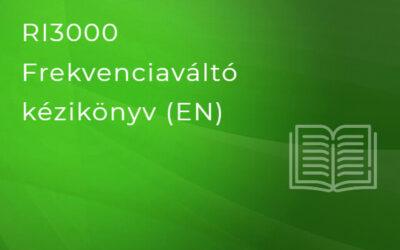 Rievtech RI3000 Frekvenciaváltó kézikönyv (EN)
