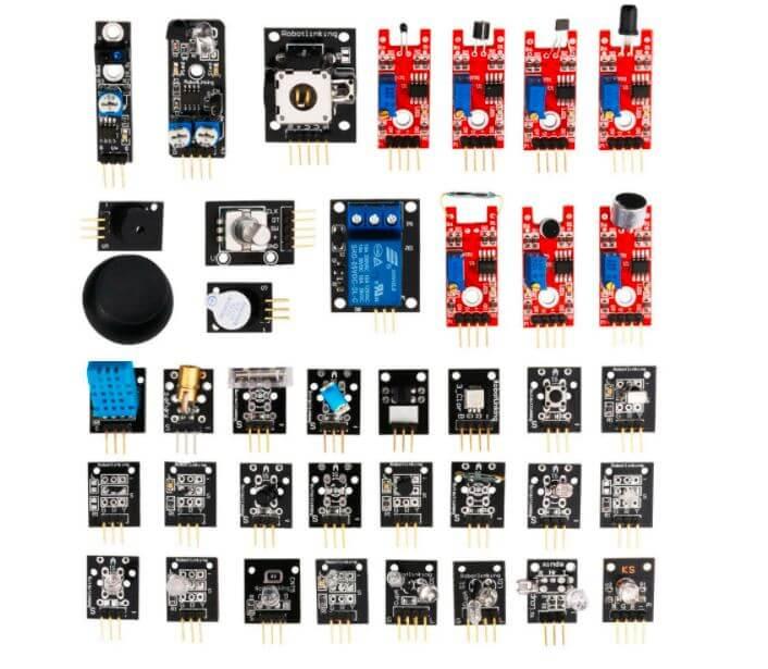 Arduino modulok, szenzorokkal