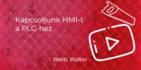 HMI PLC kapcsolata