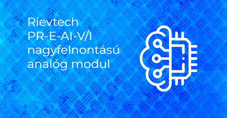 PR-E-AI-V/I Nagy felbontású analóg bővítő modul