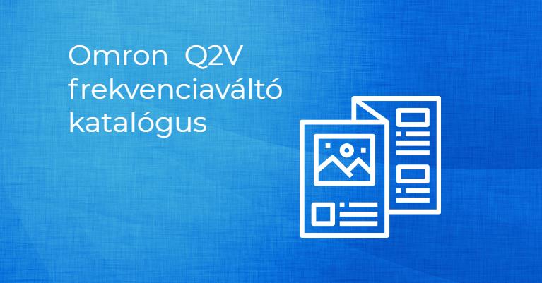 OMRON Q2V Frekvenciaváltó katalógus