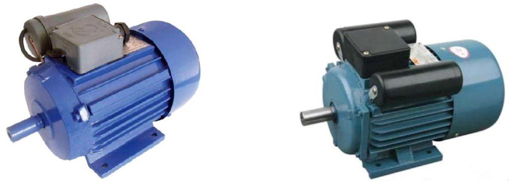 egy- és kétkondenzátoros motor